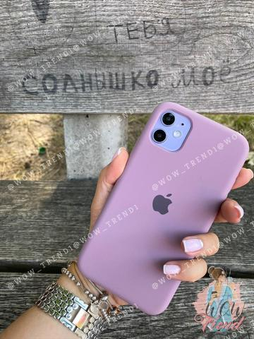 Чехол iPhone XR Silicone Case copy /blueberry/