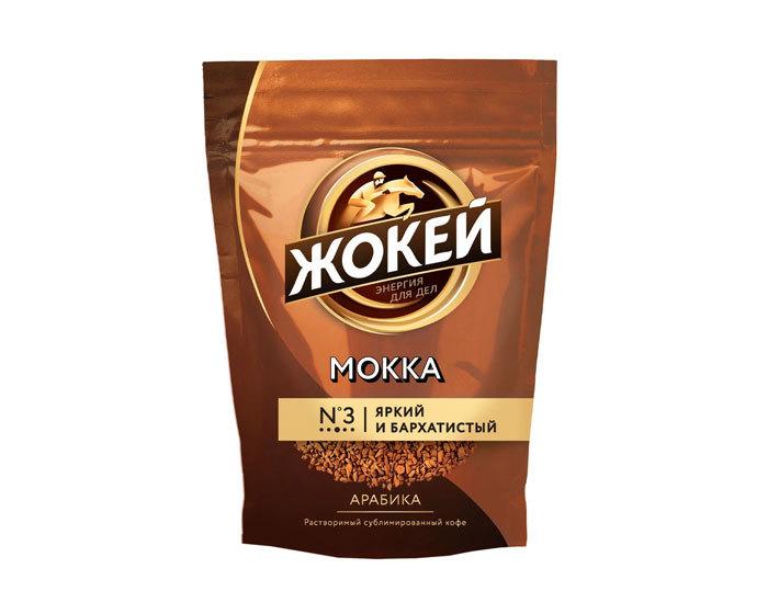 купить Кофе растворимый Жокей Мокка, 130 г пакет