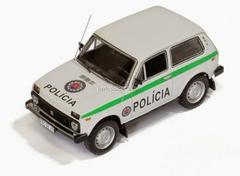 VAZ-2121 Lada Niva Slovak Republik Police Policia 1993 IST118 IST Models 1:43