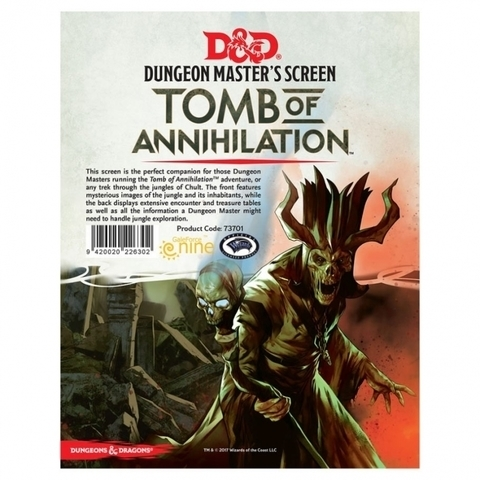 D&D Next: Tomb of Annihilation Dungeon Master's Screen