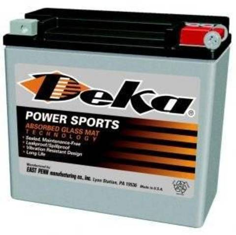 Аккумулятор DEKA ETX20L (YTX20L-BS)