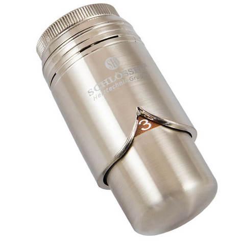 Головка термостатическая BRILLANT Сталь M28x1,5 C