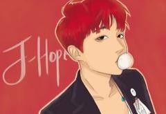 Kətan Tablo / Картина - BTS J-Hope