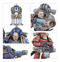 Mark III Space Marines. Детали