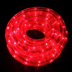 Дюралайт красный 14м+контроллер