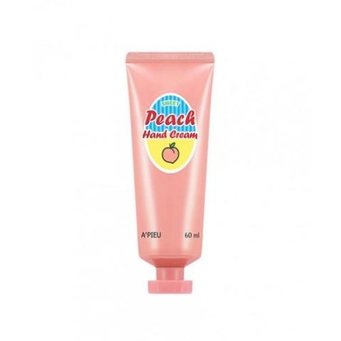 A'PIEU Крем для рук с персиком Peach Hand Cream, 60 мл
