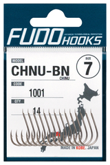 Крючки FUDO 1000 CHINU #14 NK (22PCS/BAG)