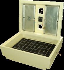Инкубатор Золушка 70 яиц 220/12v механический с терморегулятором с ЖК экраном