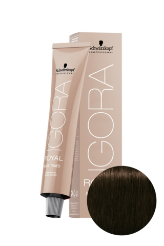 Краситель для волос Igora Royal Nude Tones Collection 4-46 Schwarzkopf Professional, 60 мл