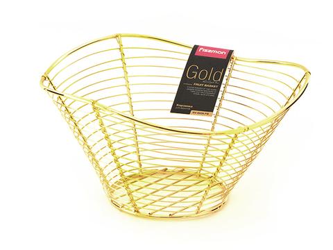 8936 FISSMAN Gold Корзинка для фруктов,  купить