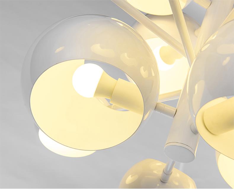 Потолочный светильник копия Kopra Burst No 433 by David Weeks Studio (белый)