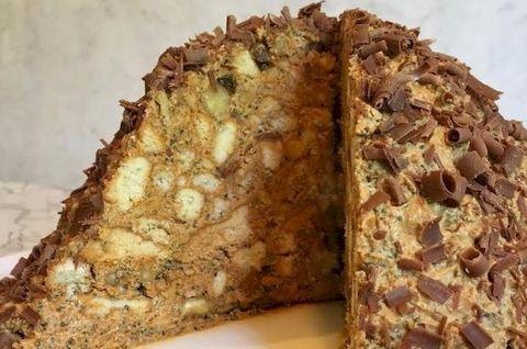 Торт Муравейник без глютена с добавлением грецкого ореха
