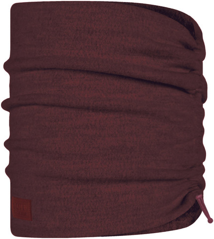 Шарф-труба шерстяной Buff Wool Fleece Maroon фото 1