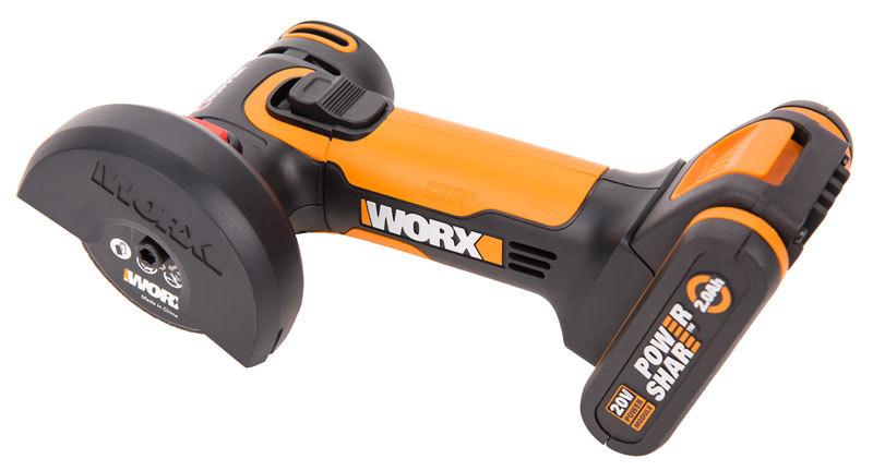 Угловая шлифмашина аккумуляторная WORX WX801 20В