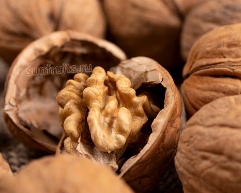 неочищенный чилийский грецкий орех очень сладкий
