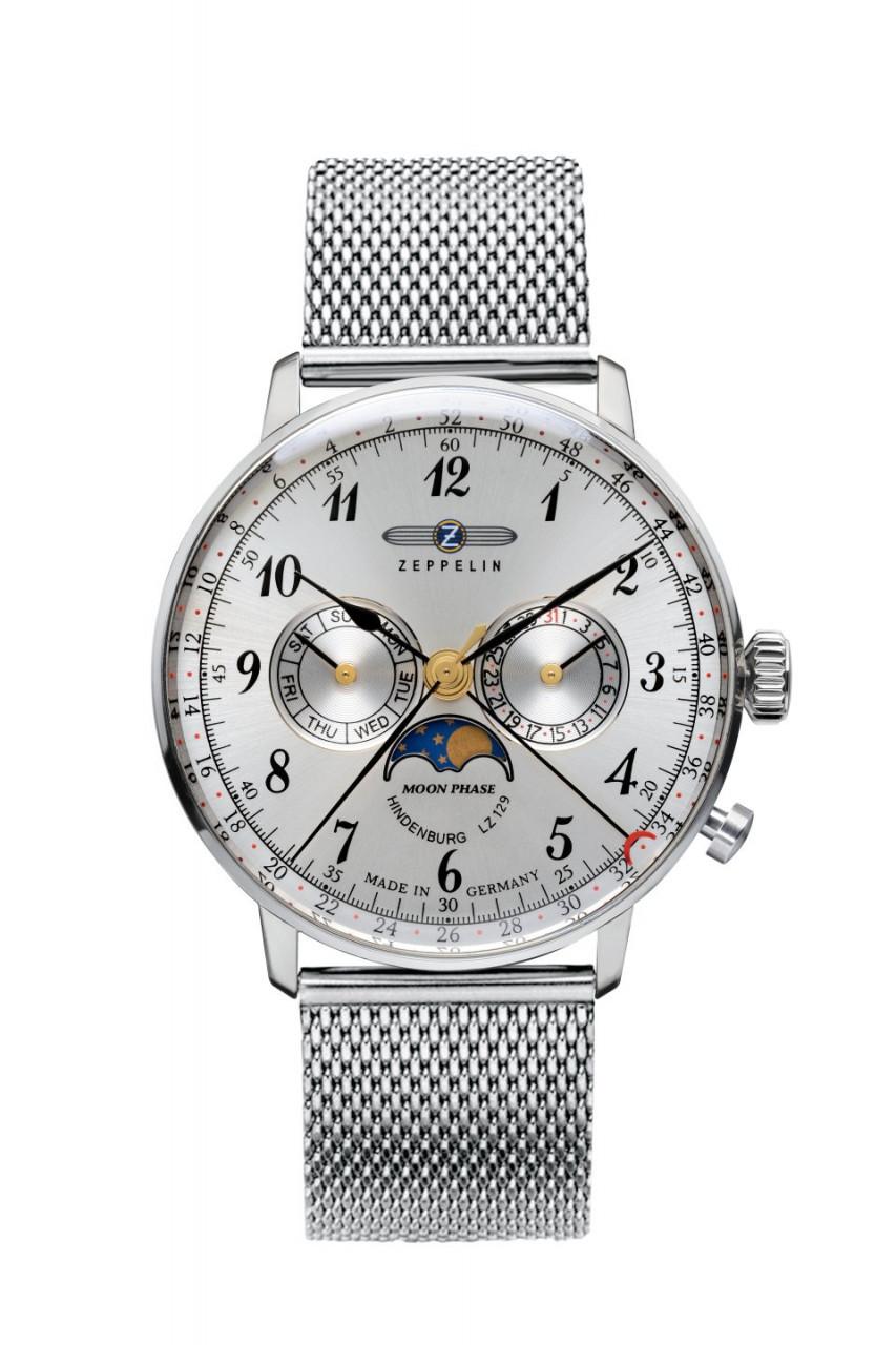 Мужские часы Zeppelin LZ129 Hindenburg Moonphase 7036M1