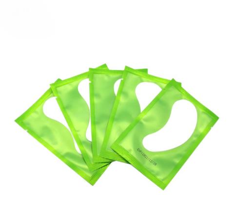 Гидрогелевые патчи для изоляции ресниц 50 пар/уп. (зеленая упаковка)
