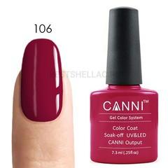 Canni, Гель-лак № 106, 7,3 мл