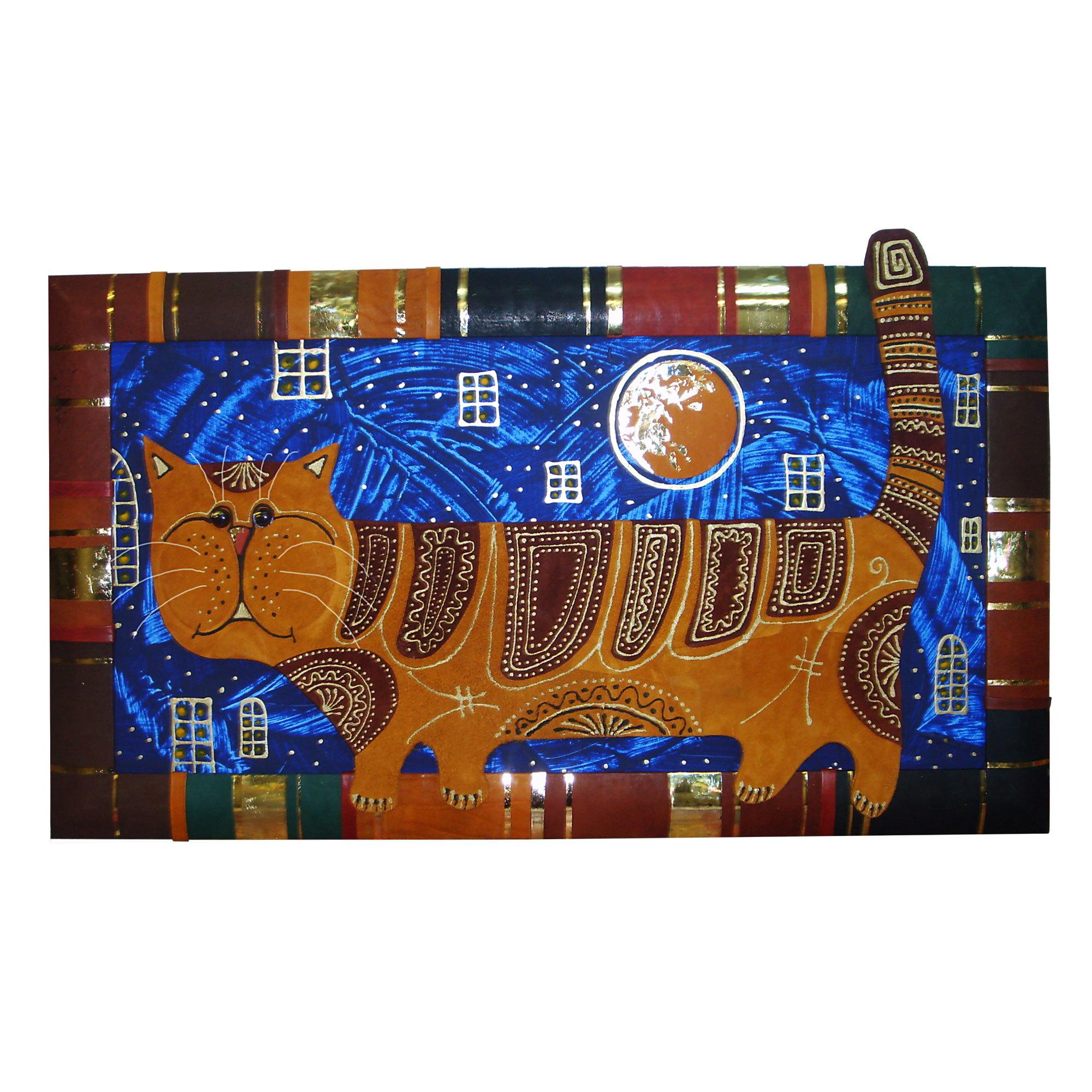 Панно «Лунный кот»
