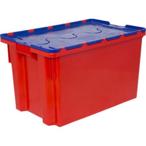 Ящик (лоток) универсальный из ПНД 600х400х350 мм оранжевый