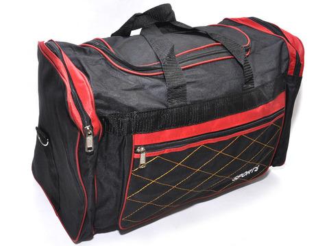 Сумка спортивная. Размер 50х30х22 см. Основной карман на молнии, дополнительный накладной карман сбоку, двумя торцевыми карманами,  плечевой ремень. DY-2617