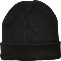 Черная шапки бини для зимы