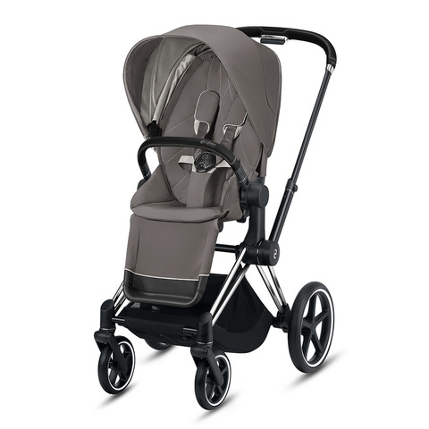 Прогулочная коляска Cybex Priam III Soho Grey Chrome Black