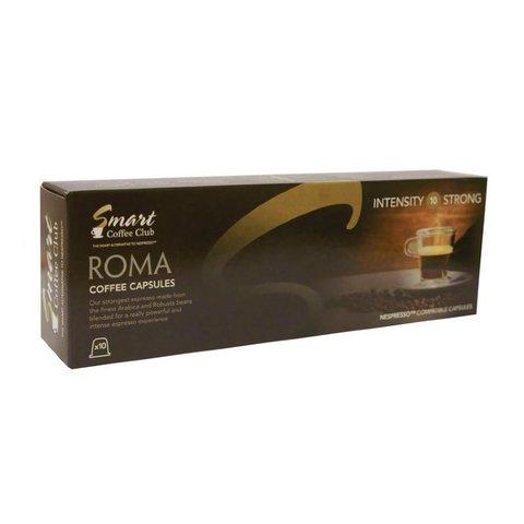 Smart СС Roma (10 шт) Кофе в капсулах для кофемашин Nespresso