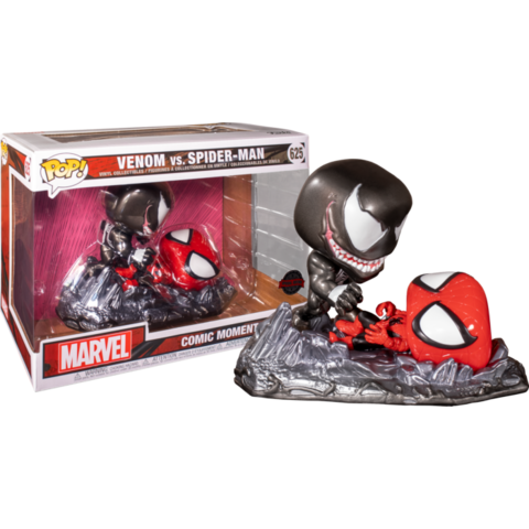 Фигурка Funko Pop! Comic Moments: Marvel - Venom vs Spider-Man (Excl. to Previews)