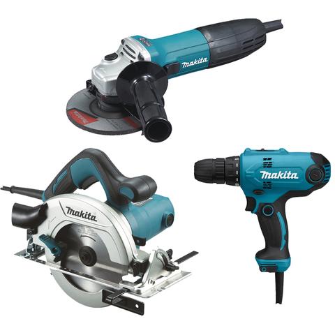 Набор электроинструментов Makita: GA5030, HS6601, DF0300