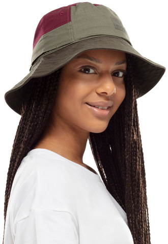 Панама хлопок Buff Sun Bucket Hat Hak Khaki фото 2