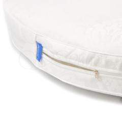 Матрас в овальную кроватку для новорожденного 120х60