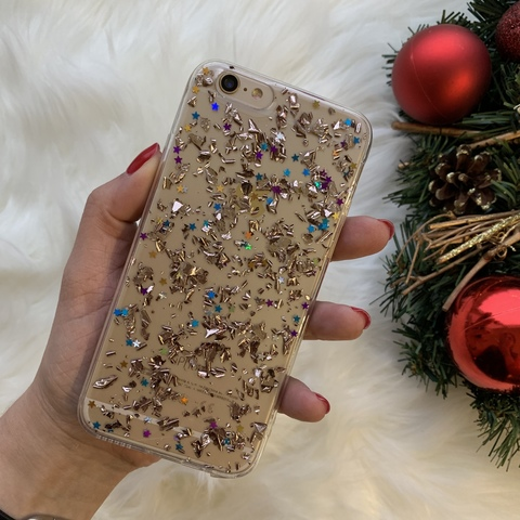 Чехол iPhone 6/6S Magic Brilliance /rose gold/