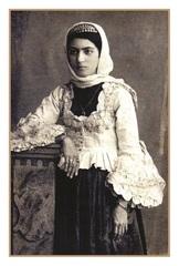Açıqca \ Открытки \ Postcard Qarabağ gözəli