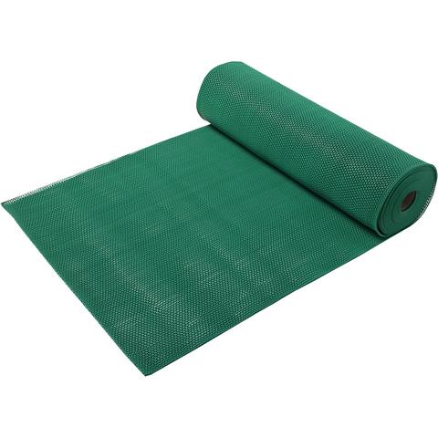 Коврик-дорожка против скольжения Zig-Zag, зеленый, 5 мм, 0,9*10 м