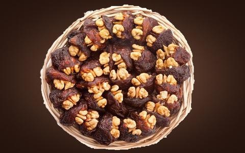 Хаштак (абрикос с орехами и изюмом)