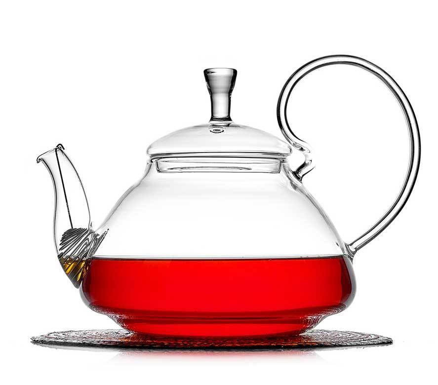 """Стеклянные заварочные чайники Заварочный чайник из стекла с фильтром """"Георгин"""", 1200 мл chaynik_georgin_1200ml-teastar.jpg"""