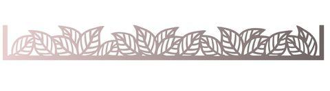 Трафарет для шоколада №1708 - Листики