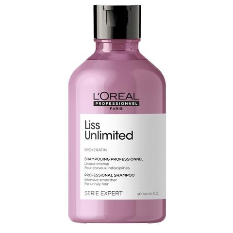 L'Oreal Professionnel Liss Unlimited: Шампунь для непослушных волос Лисс Анлимитид (Liss Unlimited Shampoo), 300мл/1. 5л