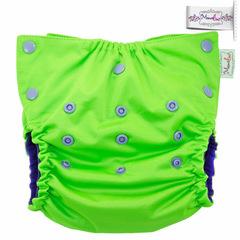 Непромокаемая обложка-трусики с вкладышем Mamalino Зеленый