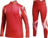 Комбинезон лыжный Craft EXC CLUB детский (рубашка+тайтсы) красный