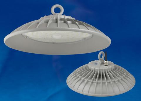 ULY-U33C-200W/DW IP65 SILVER Светильник светодиодный промышленный. Дневной белый свет (6500K). Угол 120 градусов. TM Uniel.