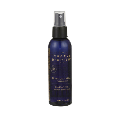 CHARME D'ORIENT | Масло для тела медовое / Huile de massage parfum Miel - Massage oil Honey fragrance, (150 мл)