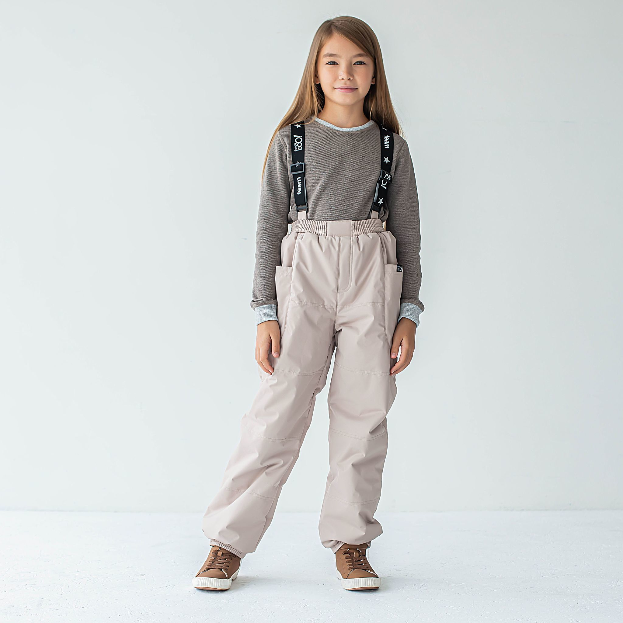 Winter membrane trousers for teens - Beige