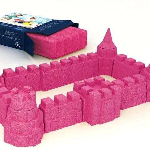 Кинетический песок Arhi-Sand (АРХИСЕНД) Розовый, 3 кг