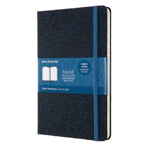 Блокнот Moleskine LIMITED EDITION BLEND LCBD05QP060D Large 130х210мм 192стр. линейка мягкая обложка синий