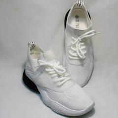 Сникерсы кроссовки для повседневной ходьбы женские El Passo KY-5 White.