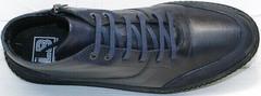 Стильные ботинки мужские кожаные Luciano Bellini BC2802 L Blue.