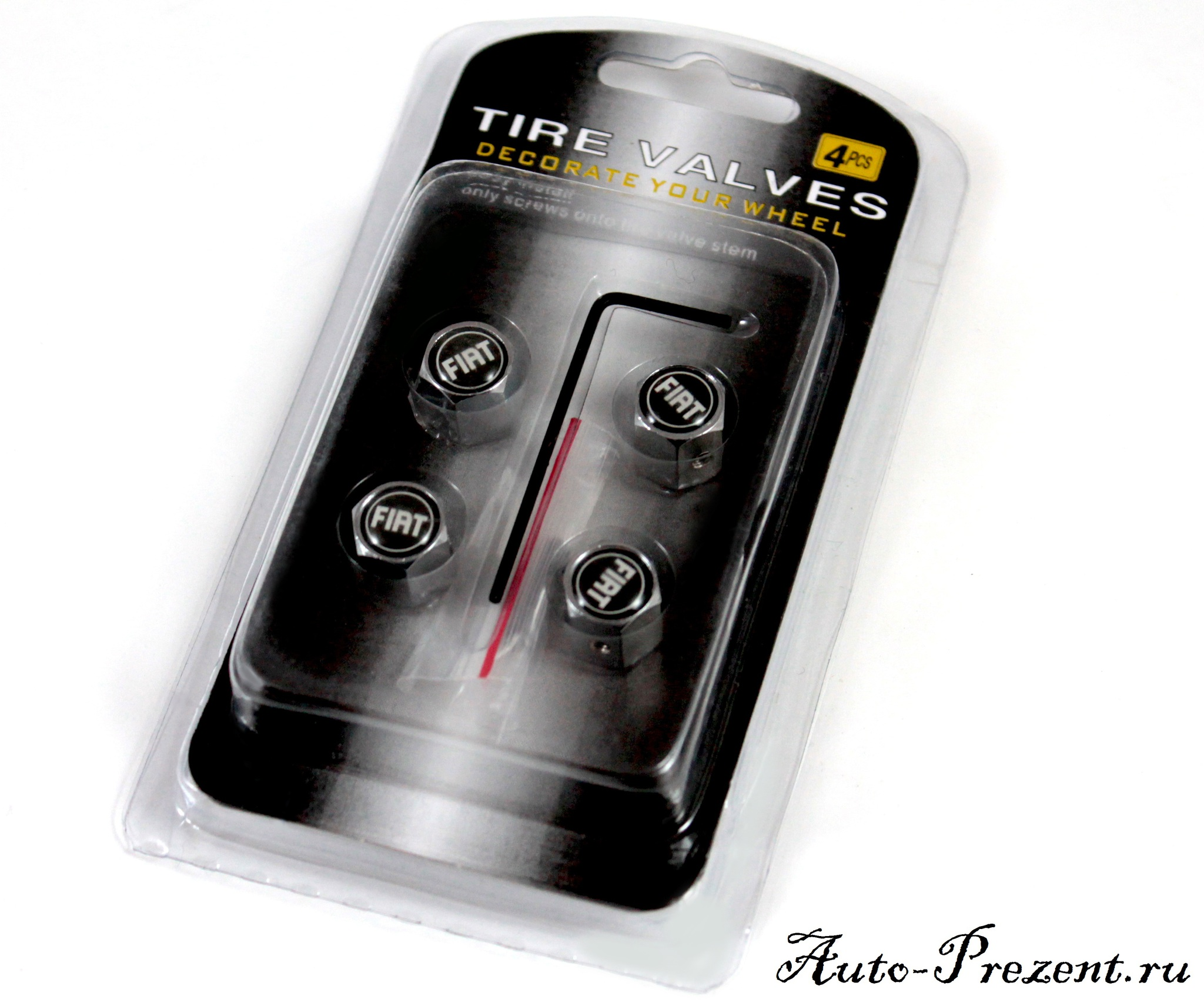Колпачки на ниппель FIAT с защитой от кражи