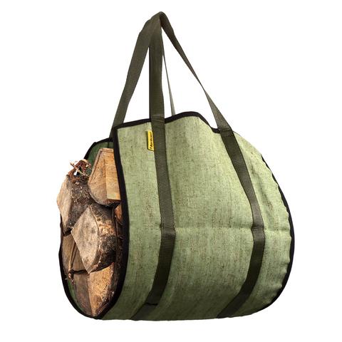 Сумка для переноски дров 35х90 см, ручки 20 см